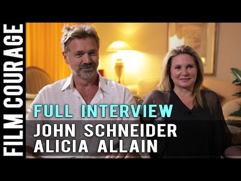 Making Movies The Way We Want To Make Them - John Schneider & Alicia Allain Full Interview