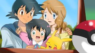 Ash Sarena Wedding In Pokemon Anime   Ash After Pokemon Master