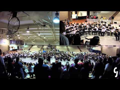 Hawaiʻi Ponoʻī | Massed Band | 2015 POHB