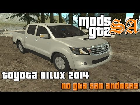GTA SA - Toyota Hilux 2014 - YouTube