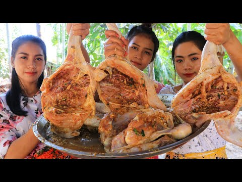 Roasted Chicken With Fish Sauce Cooking Recipe - Natural Life TV