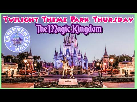 🔴 LIVE:Twilight Theme Park Thursday at The Magic Kingdom.