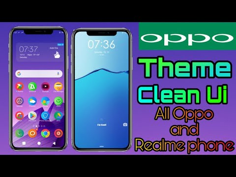 Clean Ui theme for all oppo and realme phone's.