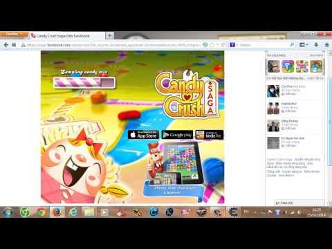 hack candy crush saga trên google chrome - [TKC Production] - Thủ Thuật Chơi Candy Crush Saga Trên Trình Duyệt Web