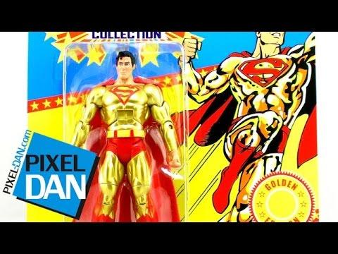 Mattel DCUC Super Powers Collection Gold Superman Figure Video Review