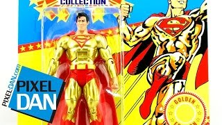 Mattel DCUC Super Powers Collection Gold Superman Figure Video Review