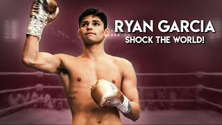 Ryan garcia takes on ... let's shock the world!