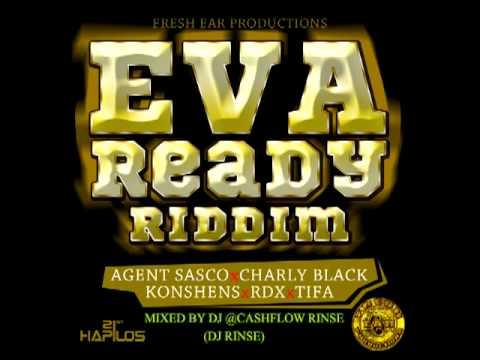 EVA READY RIDDIM MIXED BY CASHFLOW RINSE(DJ RINSE){arif cooper prod}{aug 2012}