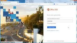 Office 365 Kirjautuminen