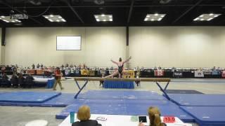 Colbi Flory - Balance Beam - 2017 Women's Junior Olympic Championships