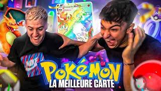 JE CROIS QU'ON A EU UN DRACAUFEU ULTRA RARE ! 🥵 (battle d'ouverture de booster Pokémon avec Inoxtag)