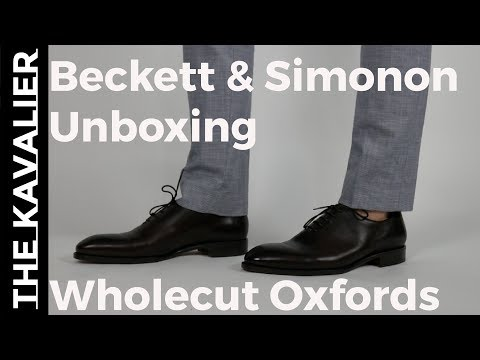 Whole-Cut vs Oxford: Which Dress Shoe Is More Formal new