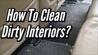 How To Clean Dirty Interiors? (Toyota 4Runner)