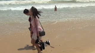 первый раз видим море на пхукете, тайланд