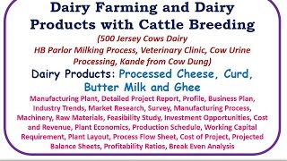 Dairy Farming and Dairy Products with Cattle Breeding