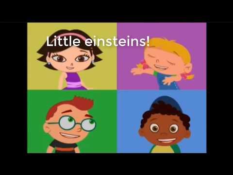 Little Einsteins Theme Song - Karaoke With Lyrics - Rare!