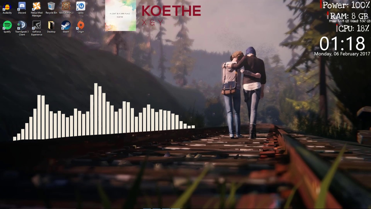 Rainmeter Wallpaper Life Is Strange Youtube
