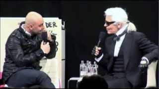 Interview Karl Lagerfeld: Das menschgewordene Marketing