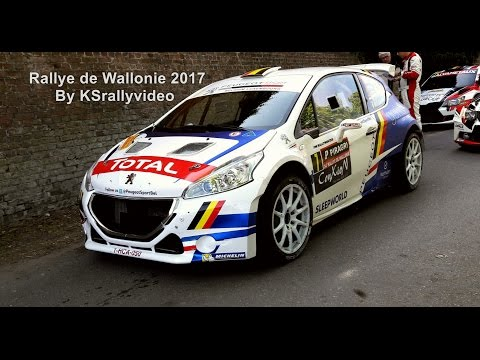 [BRC] Rallye De Wallonie 2017 By KSrallyvideo SHOW & MISTAKES [HD]