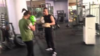 Gambar cover Training boxing at wellfitt..