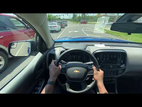 2020 Chevy Colorado 3.6L Work Truck 2WD Review And Test Drive