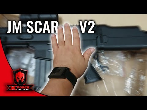 JM SCAR v2 at JinMing Factory by X-Force toy guns & Gel Blasters