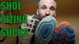 Running Shoe sizes are f***** up