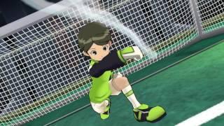 Inazuma Eleven GO Strikers 2013 Alien team vs Inazuma Girls Wii