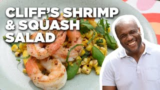 Grilled Shrimp and Summer Squash Salad with Cliff Crooks | Food Network