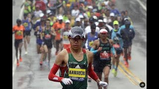 'Citizen Runner' Yuki Kawauchi now a major champ as he wins tough Boston Marathon
