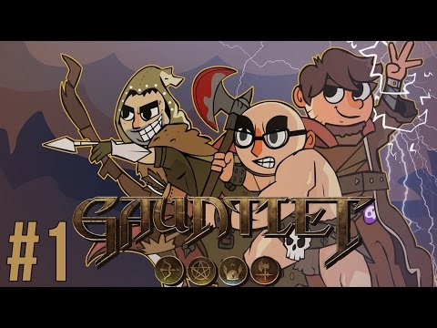 LETS PLAY GAUNTLET | EPISODE 1 | FEAT. NORTHERNLION AND DAN