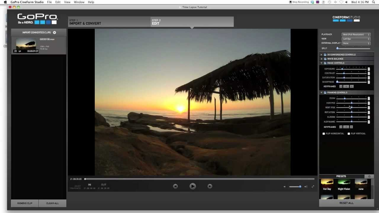 GoPro Hero 3 Time Lapse Tutorial - YouTube