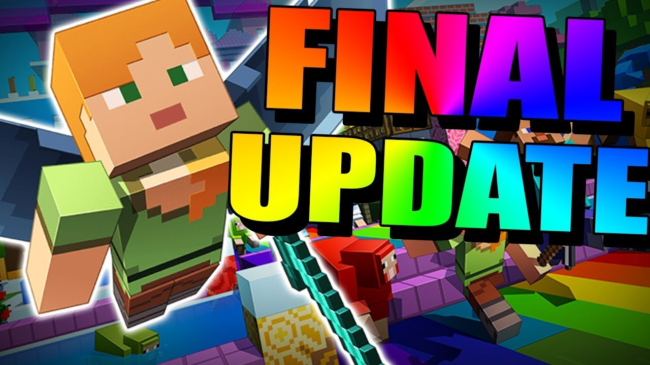 minecraft: the last update - youtube  youtube