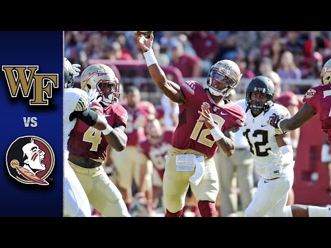 Wake Forest vs. Florida State Football Highlights (2016)