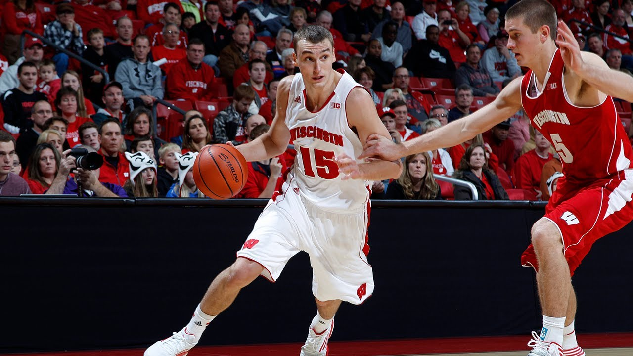 2013 Wisconsin Men's Basketball Red/White Scrimmage - YouTube