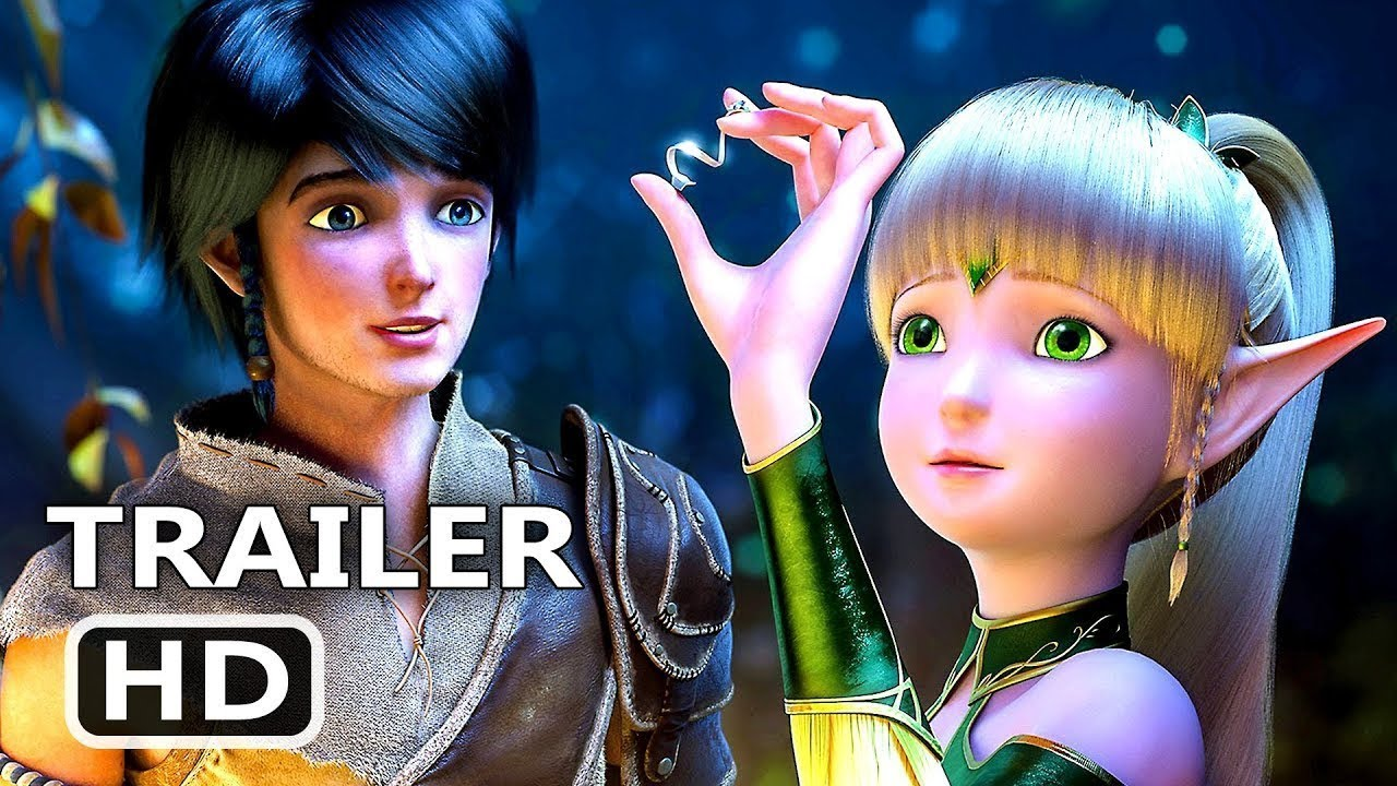 Download THRONE OF ELVES Official Trailer (2018) Animation Movie HD