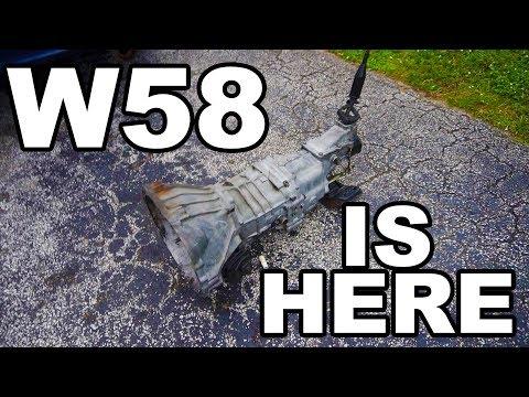 My W58 Manual Transmission!!! + Bellhousing swap