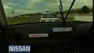 "Bathurst 1990  - Nissan Skyline ""Godzilla""."