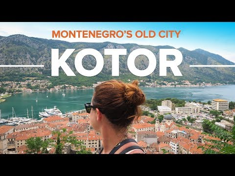 KOTOR. Travel to Montenegro's Medieval City.