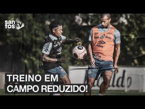 #SANTOS FAZ TREINO EM CAMPO REDUZIDO