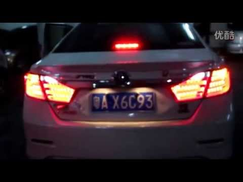 2012 2013 toyota camry led tail lights bmw style youtube. Black Bedroom Furniture Sets. Home Design Ideas