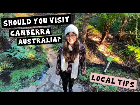7 Things to Do in CANBERRA (during a pandemic!) | Showing You Around Our Hometown