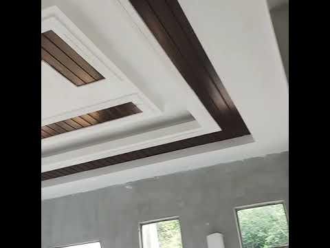 Siling Kapur Ruang Tamu Moden Deco Desain Rumah
