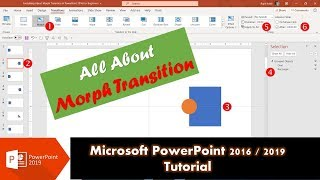 How To Use Morph Transition in PowerPoint 2019 / Office 365   #ListenMicrosoft