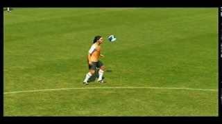 Pes 2013 - Trucos y jugadas - como hacer la Elastica de Ronaldinho