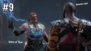 God Of War 4 PS4 - Part 9 - SONS OF THOR!