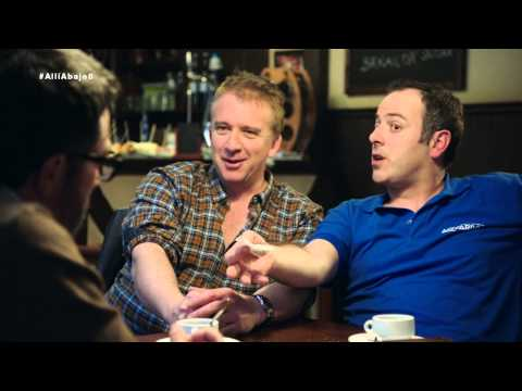 Peio y Antxon bromean con Koldo y la inminente visita de Piedad a Euskadi - Allí abajo
