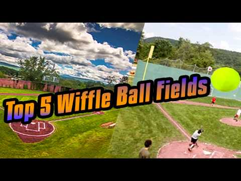 Top 5 BEST Wiffle Ball Blitzball Fields EVER!