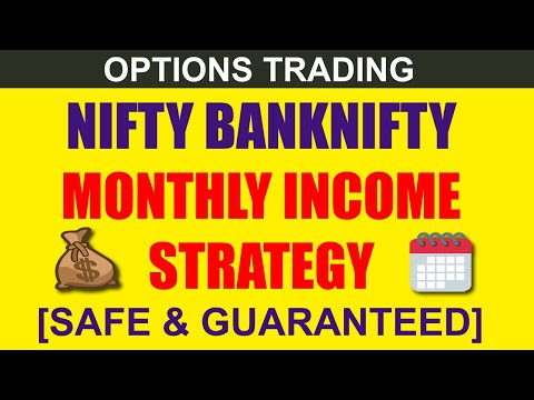 Nifty Banknifty Options Trading Strategy [SAFE MONTHLY INCOME]