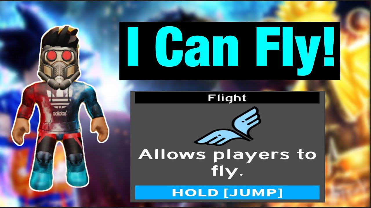 I Can Fly!! - Roblox Anime Fighting Simulator - YouTube